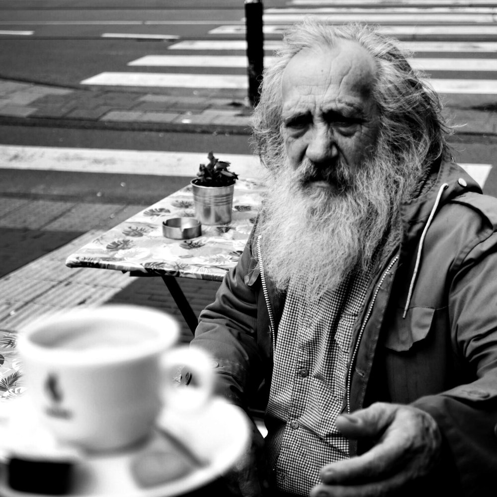 "Timothy Luza  ""I finally became an old guy"" - Anton Corbijn #2"
