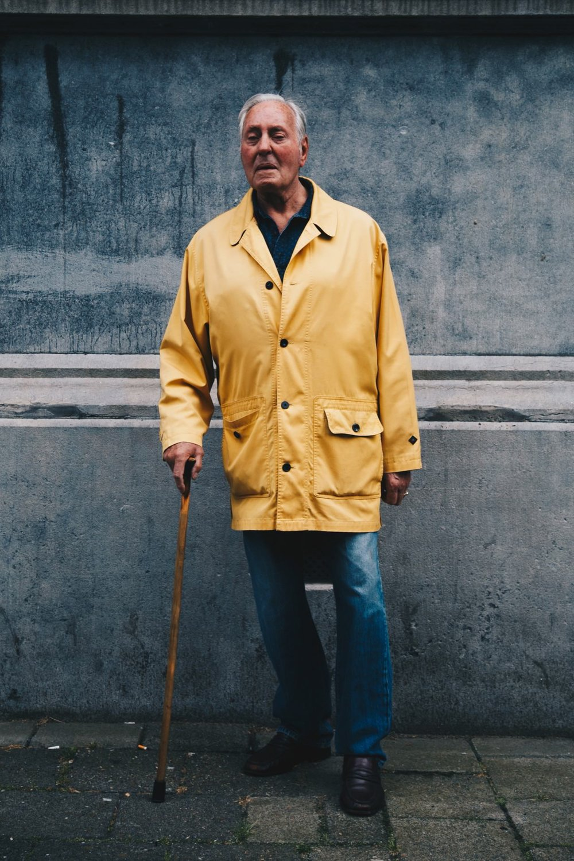 "Hosing Lee  ""I finally became an old guy"" -Anton Corbijn #1"