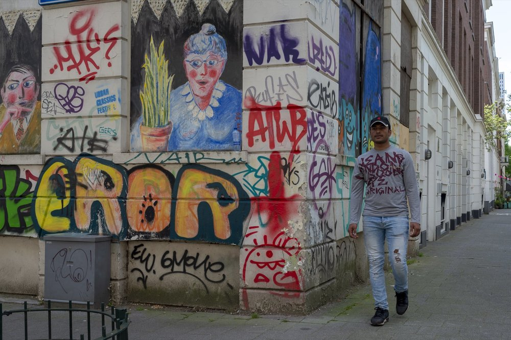 Derk Budde  Street Art #1