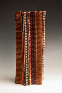 My Pleated Vessel was announced as a 2014 Niche Award Winner at the Buyer's Market of American Craft in Philadelphia, on Jan 18. It is a great honour to have won this award.