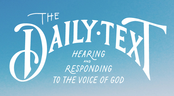 The Daily Text - October 2017 — East Hills Alliance