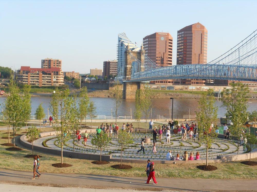 Cincinnati Riverfront, OH