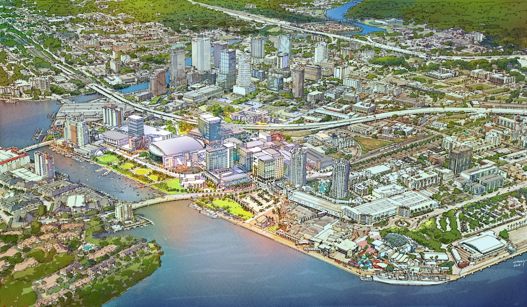 ... Retail, Restaurants, Hotels, And An Expanded Waterfront Park. Jeff  Vinik, Owner Of The Tampa Bay Lightning Hosted The Event That Included  Presentations ...