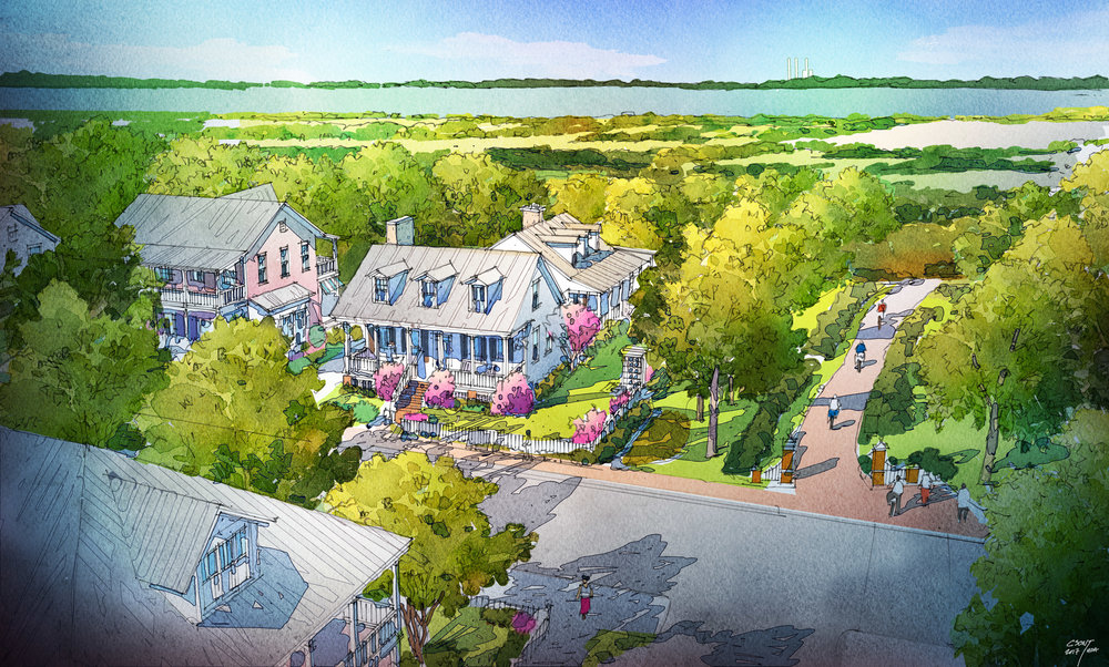 St. Francisville Neighborhood Plans - St. Francisville, Louisiana