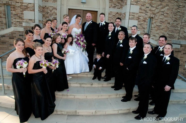 La Porte Wedding Party