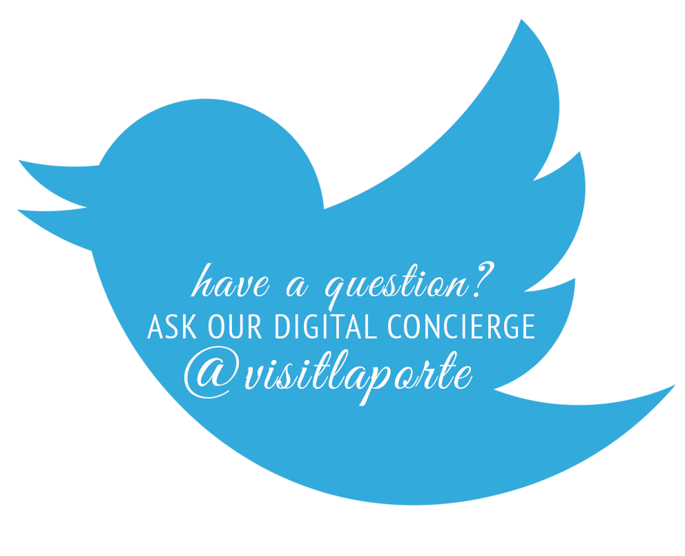 Click here to ask our digital concierge a question as you plan your trip to La Porte!