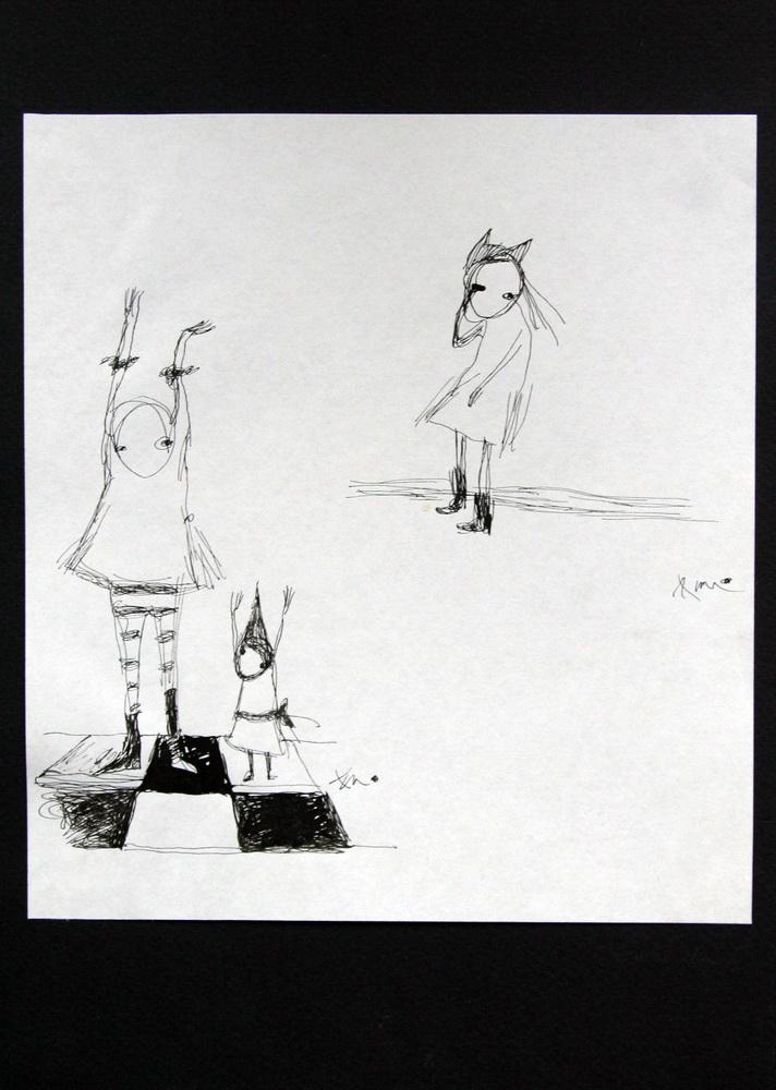 Paper, ink  2005