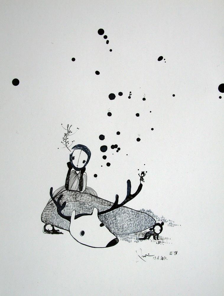 Paper, ink  2009