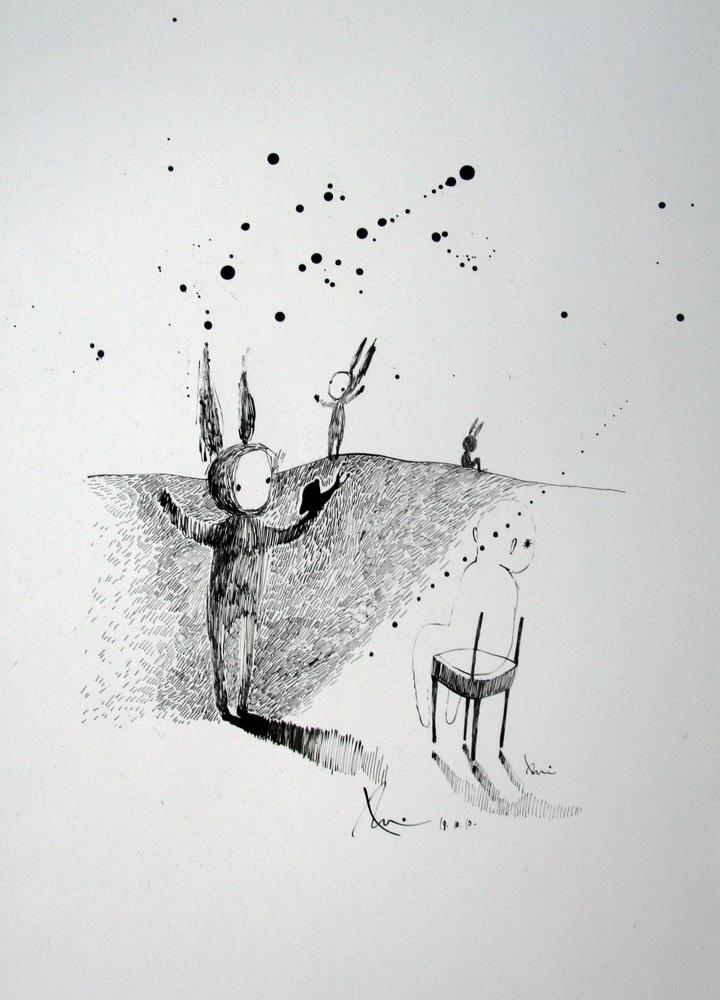 Paper, ink  2010