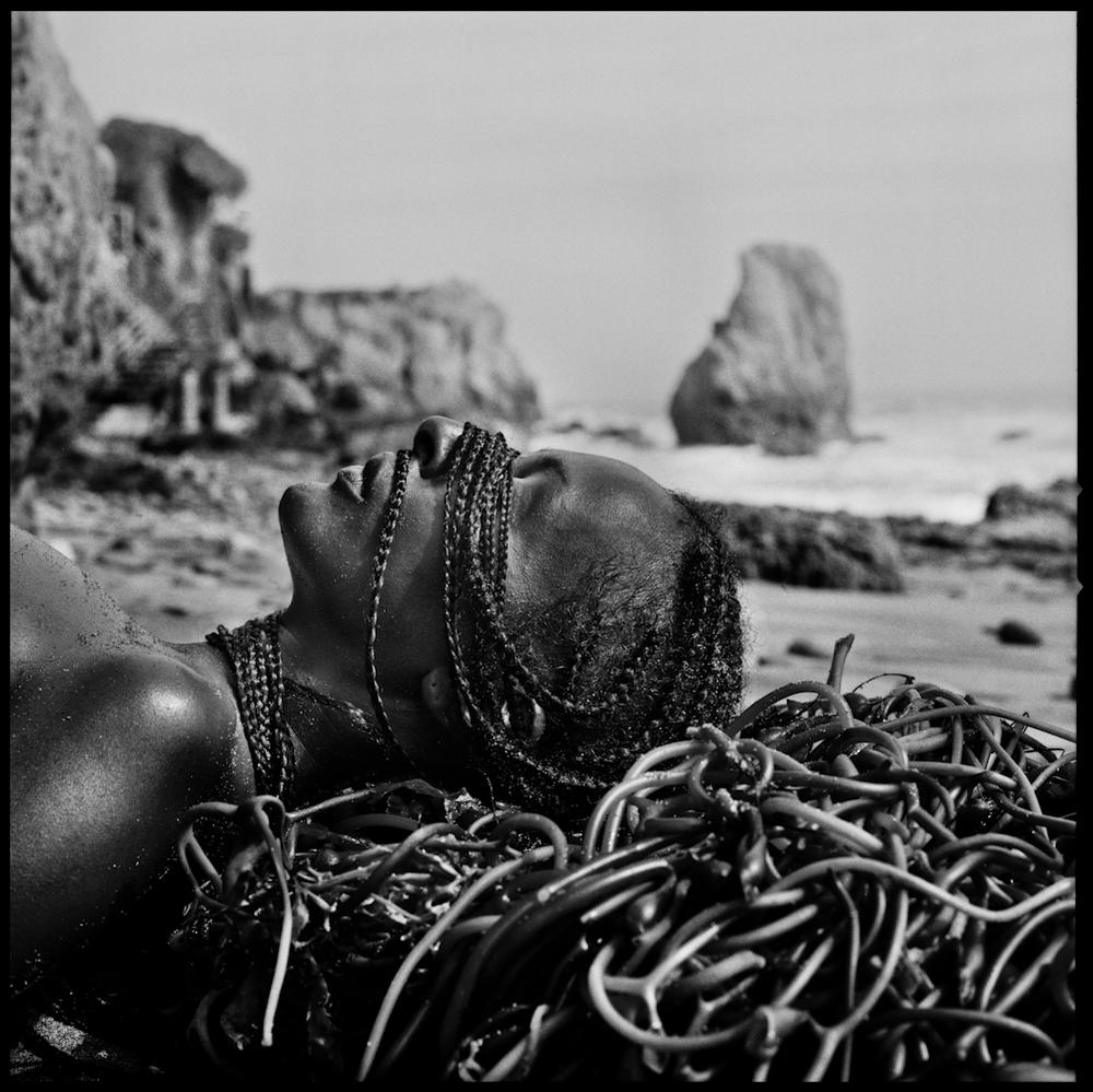 Woman, Sand + Sea
