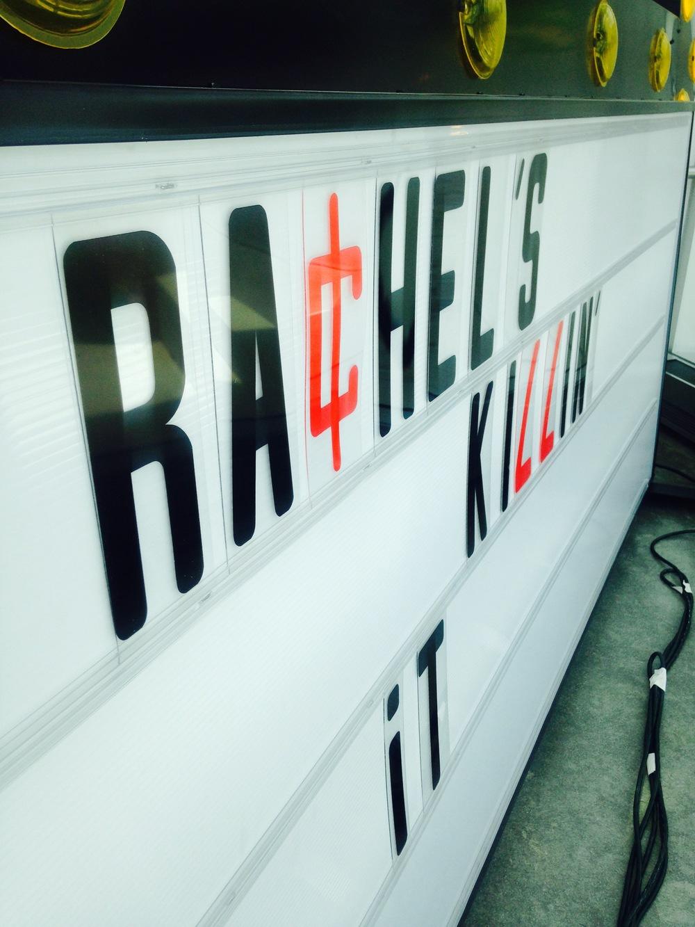 Rachel's Killin' It