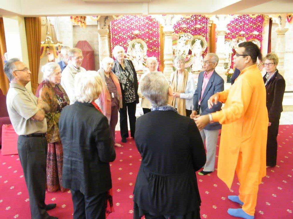 Visit at the Hindu Temple, Heredford Road.jpg