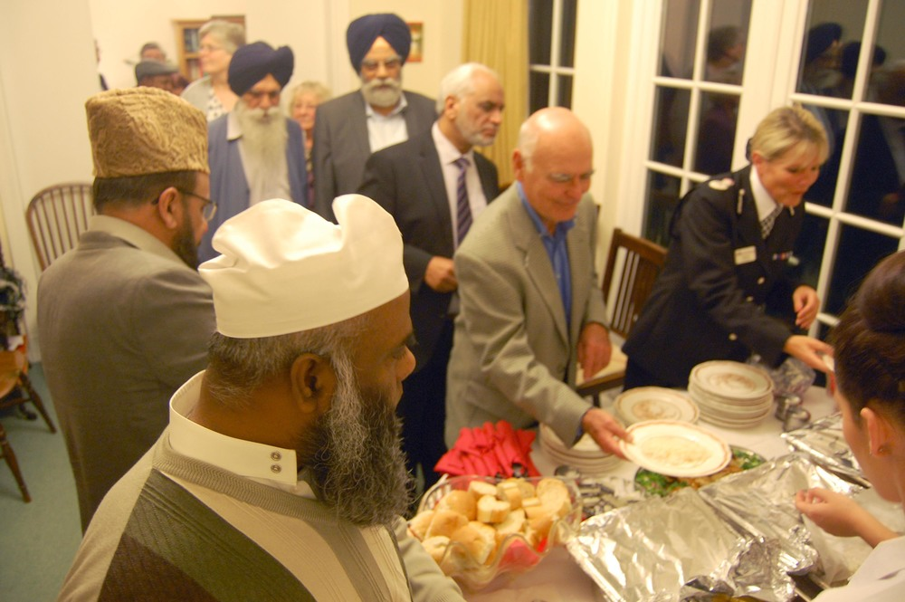Bishop of Bedford's Supper for Luton Faith Leaders.JPG