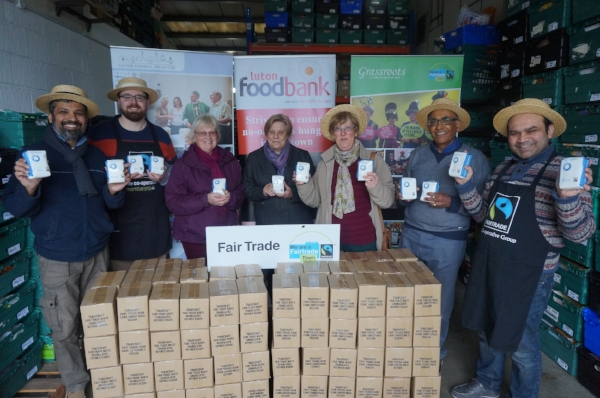 1000 Of Fairtrade Sugar Donated To Luton Foodbank Grassroots