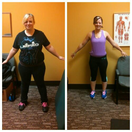 Nicole's Before and After with Trenti Training