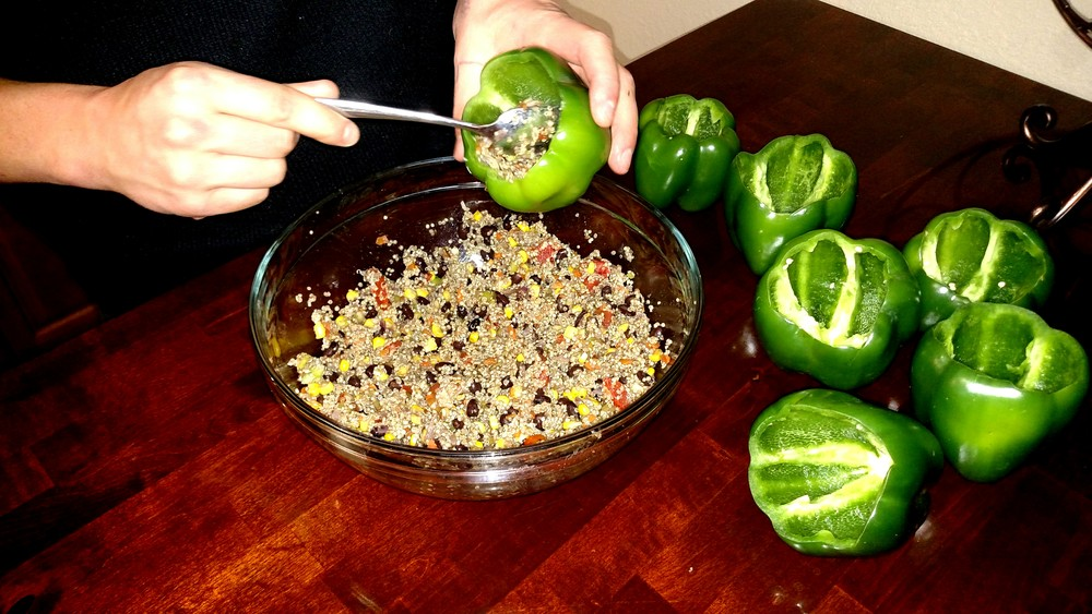 Healthy Stuffed Peppers Recipe - Meal Prepping