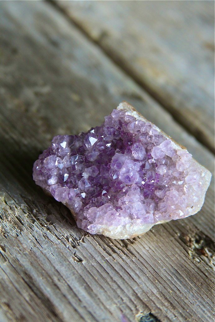 Amethyst - Protective & for the Higher Chakras