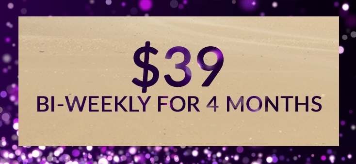 To pay tuition for the Gold Circle, with a bi-weekly payment plan of $39,  click here.