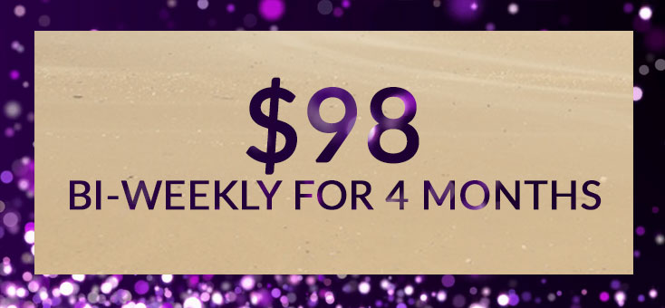 To join the Amethyst circle, and pay tuition in bi-weekly payments,  click here