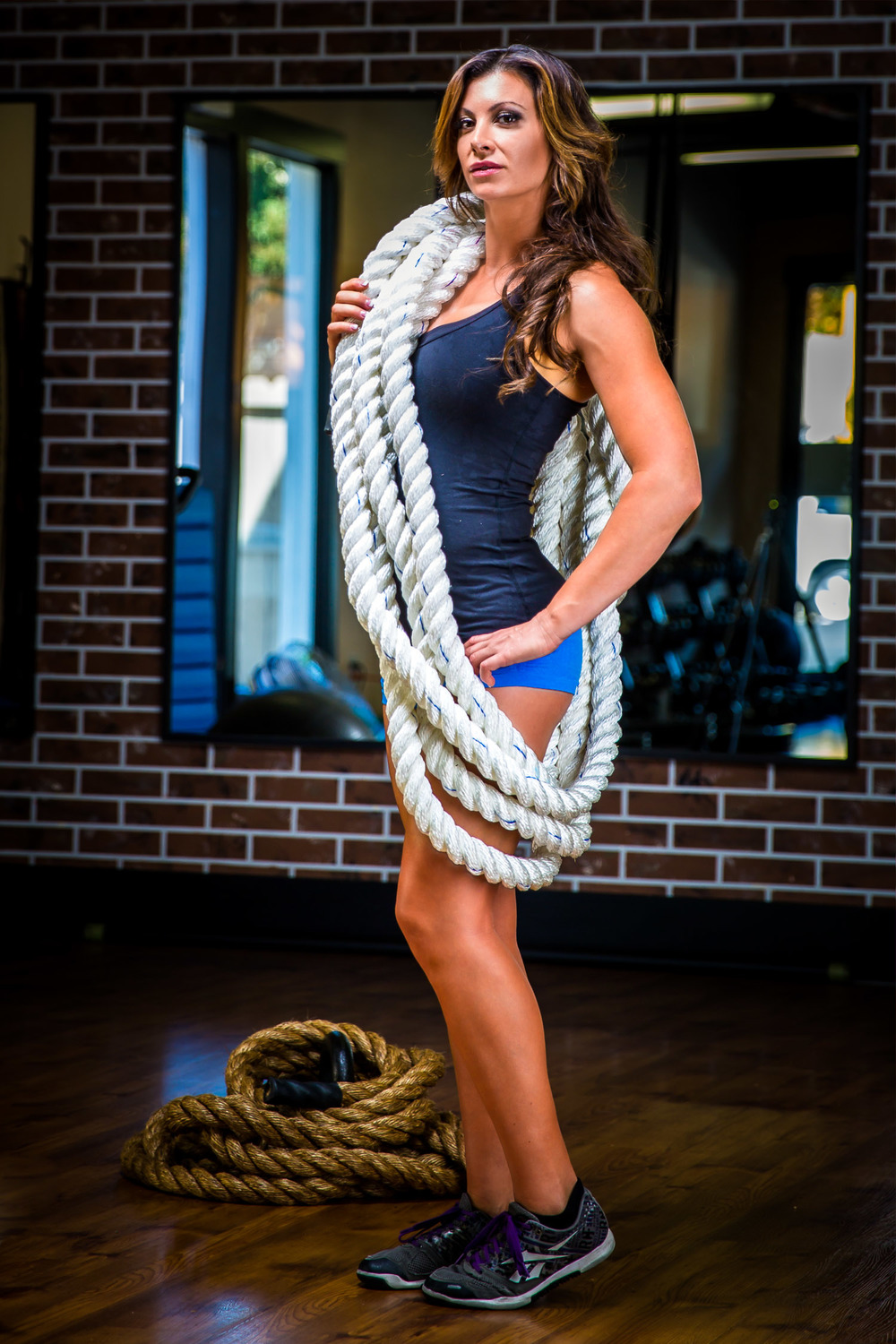 Battle Rope White Fitness Solutions Llc