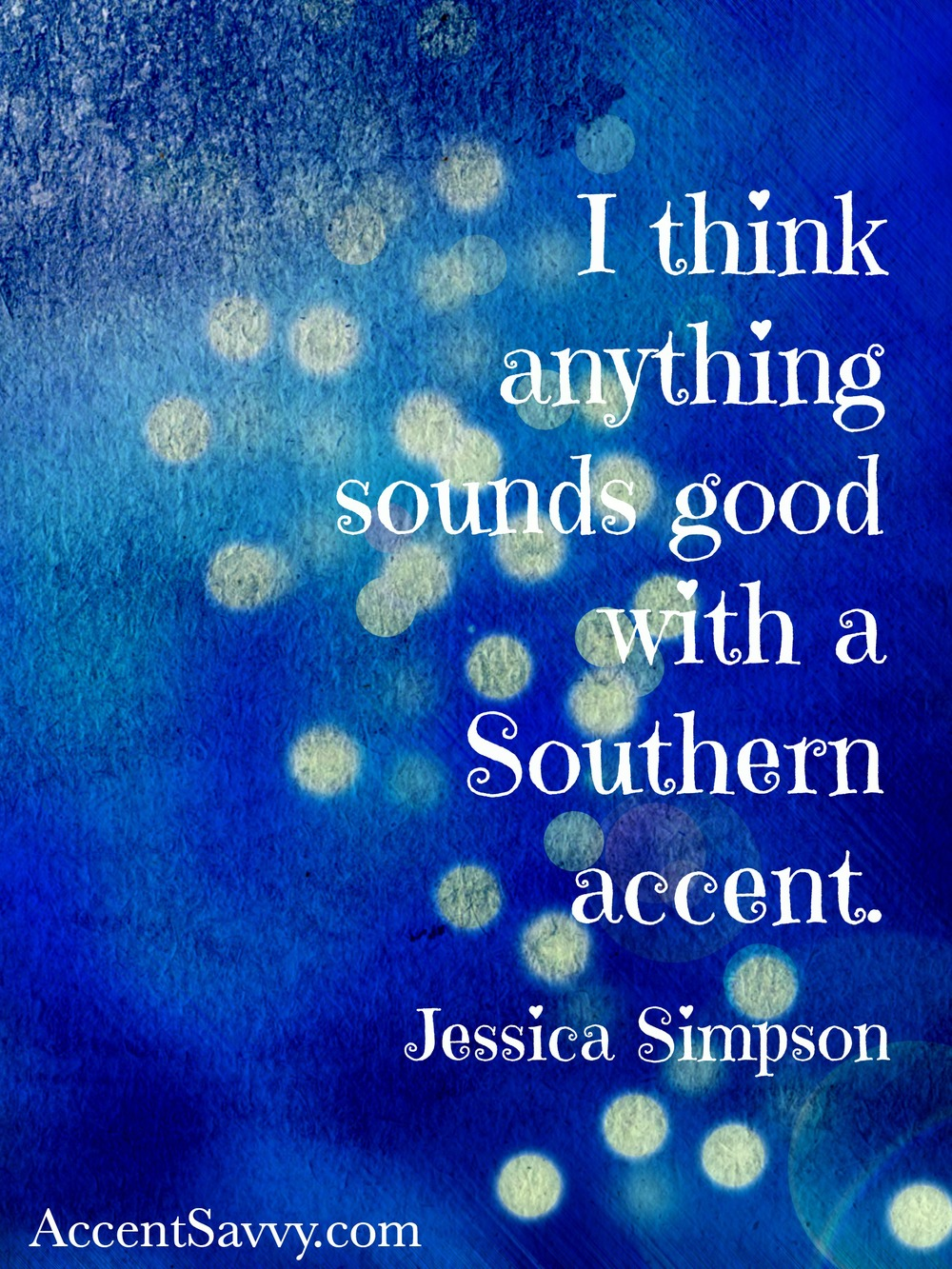 We love how Jessica continues to represent the South.