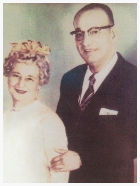 "Carl and Celia ""Tillie"" Berta Gellert"