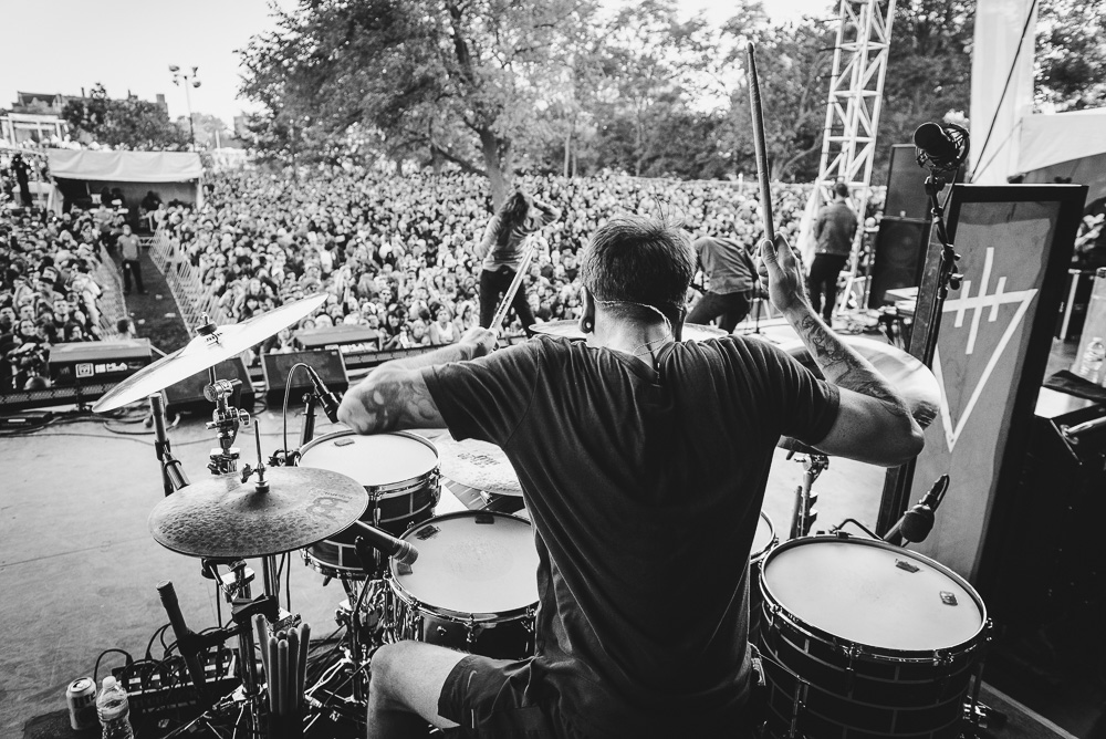 DRUM! Magazine - Daniel Williams of The Devil Wears Prada