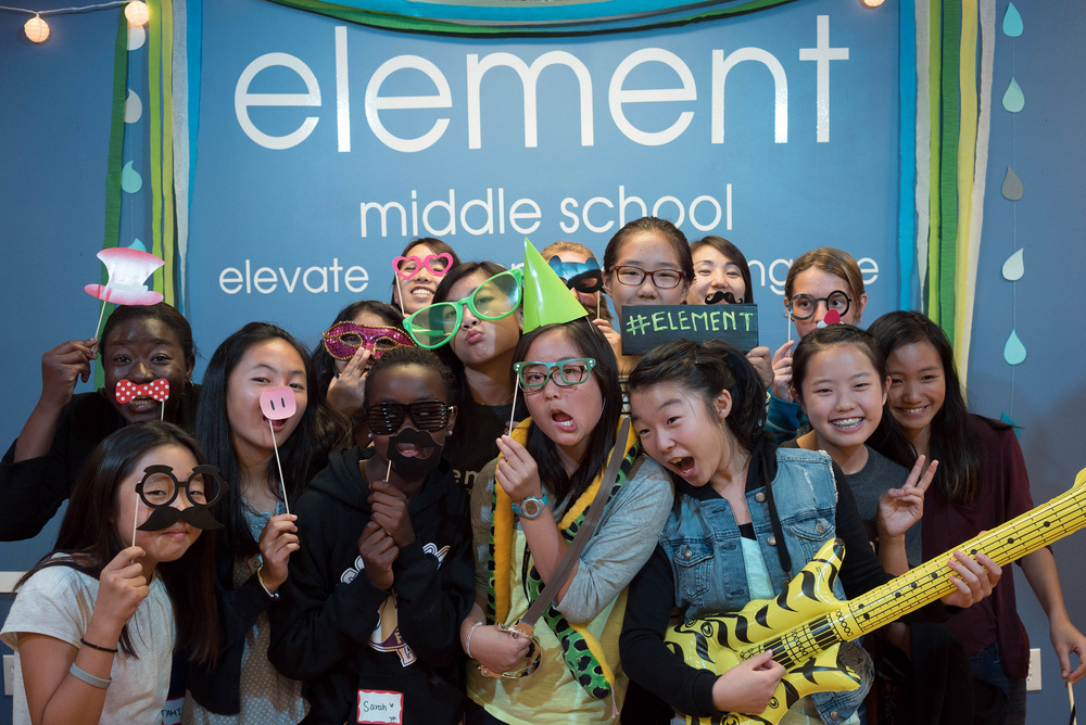 Photobooth fun with the 7th grade girls and staff! :)