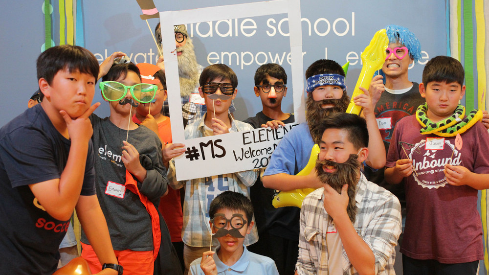 Wacky 7th grade boys! There are some intense beards goin' on...