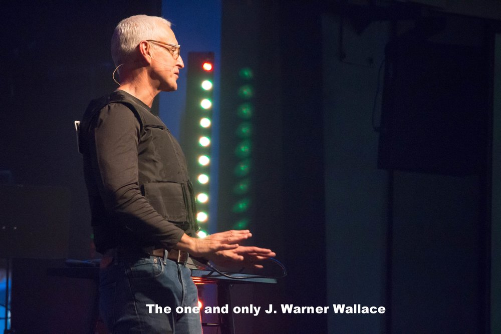 The one and only J. Warner Wallace