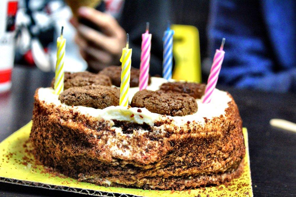 cookies + cream cake
