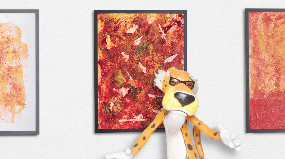 Cheetos The Art Of Chester Cheetah Chase Roselli