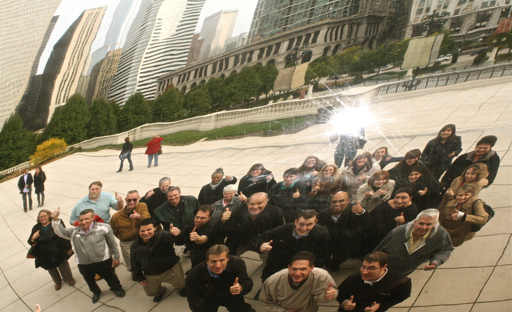 Corcoran at the bean.JPG