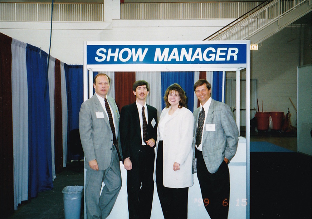Corcoran team at the Chicago Small Business Expo, 2000.