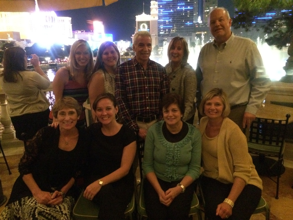 With the NBWA team in Las Vegas, 2013.