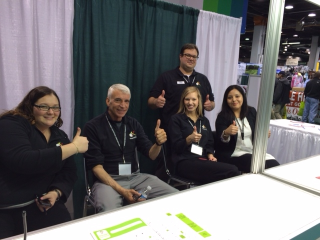 Corcoran team at the Chicago Golf Show, 2014.