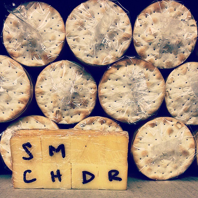 Cheese & Crackers. SMoked CHedDaR
