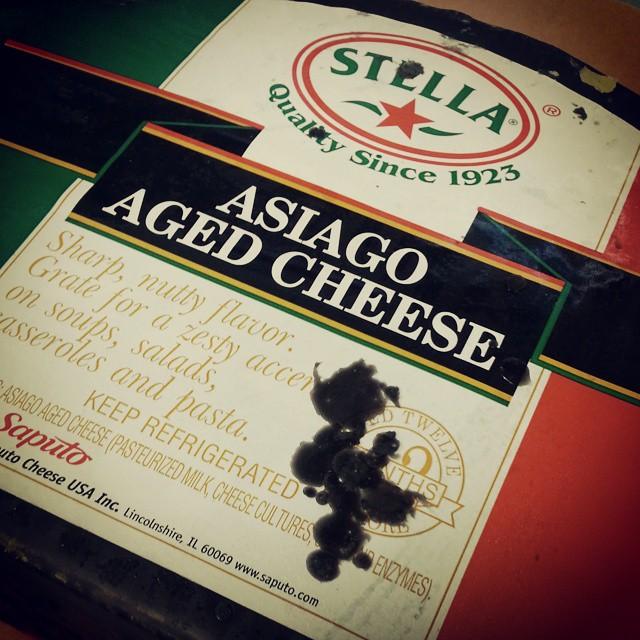 Don't hate...appreciate. Stella Aged Asiago. Yummmm