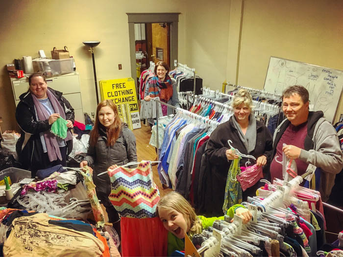 Free Clothing Exchange in North Portland — Resourceful PDX