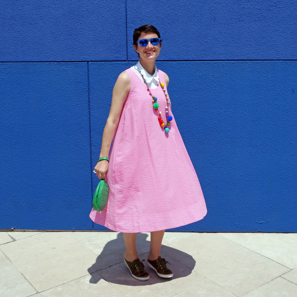 Back_To_Trendy_Pink_Dress_Blue_Sunglasses_Highfly_1.JPG