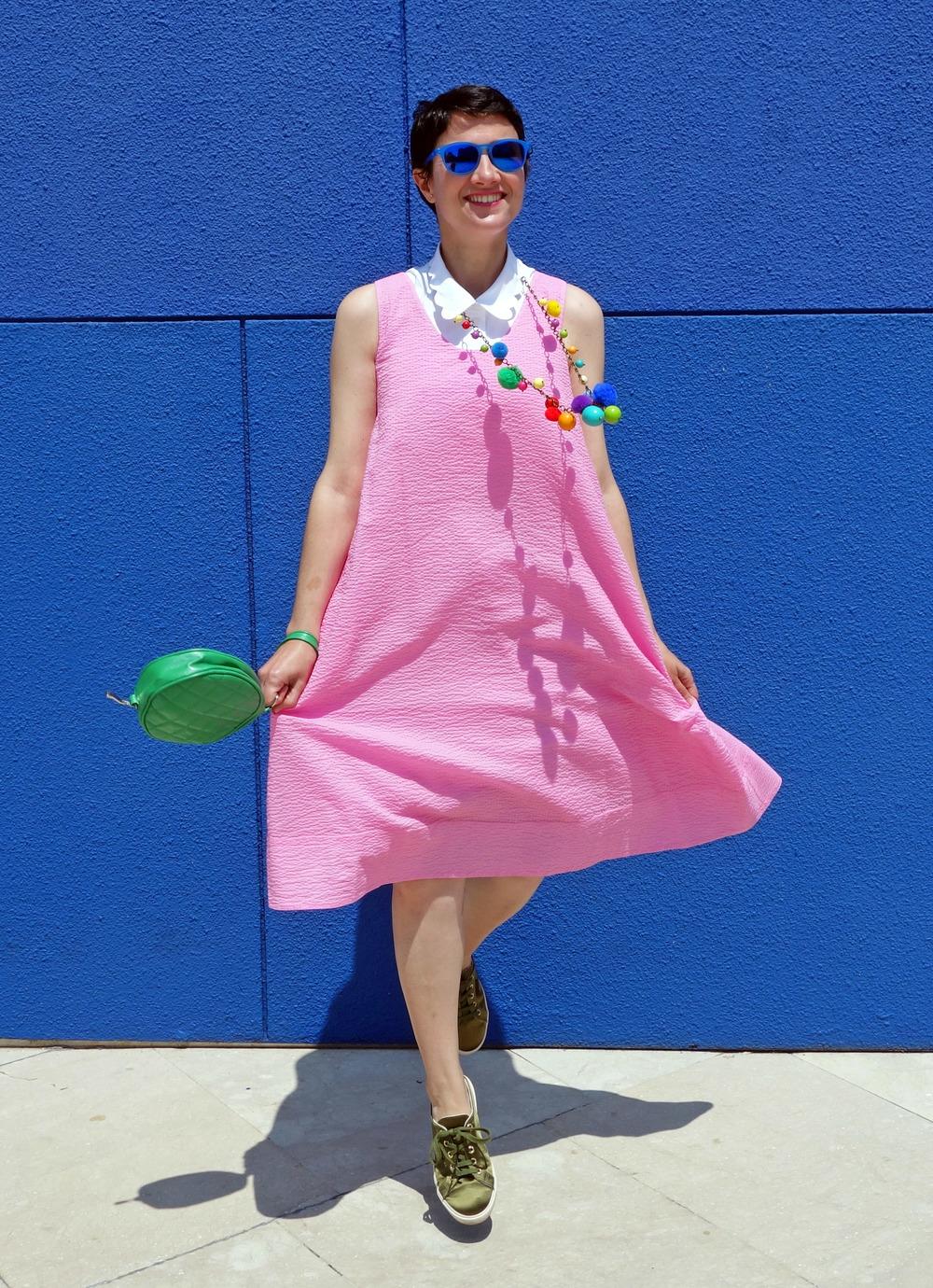 Back_To_Trendy_Pink_Dress_Blue_Sunglasses_Highfly_2.JPG