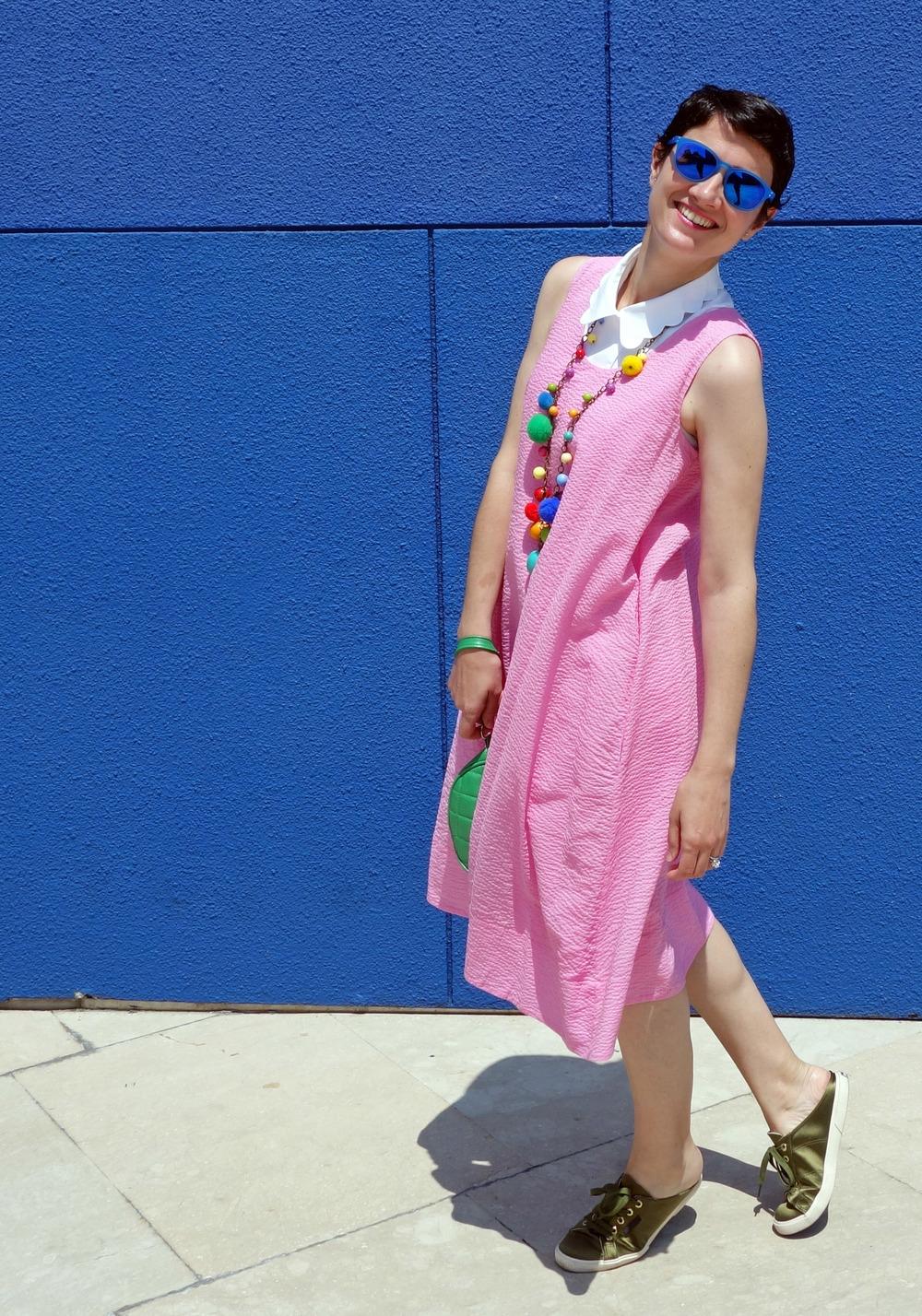 Back_To_Trendy_Pink_Dress_Blue_Sunglasses_Highfly_3.JPG