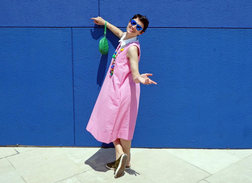 Back_To_Trendy_Pink_Dress_Blue_Sunglasses_Highfly_5.JPG