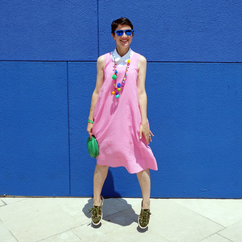 Back_To_Trendy_Pink_Dress_Blue_Sunglasses_Highfly_6.JPG