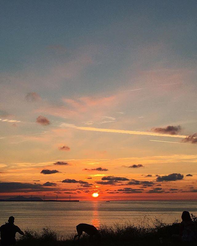 Back home 🔥💙 #sunsetjunkie #backtotrendy