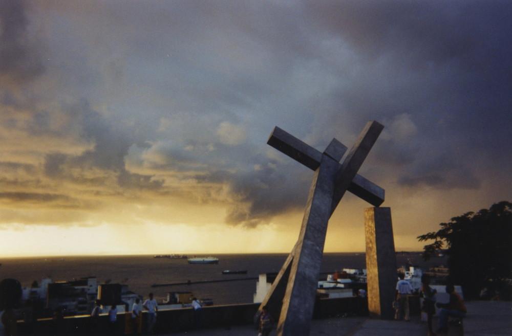 Salvador da Bahia, vue sur la baie de tous les Saints.
