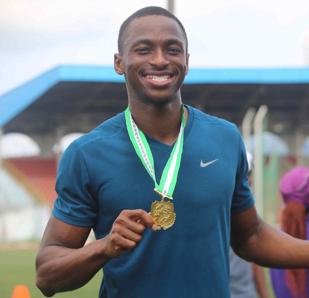Seye Ogunlewe Nigerian track & field sprinter