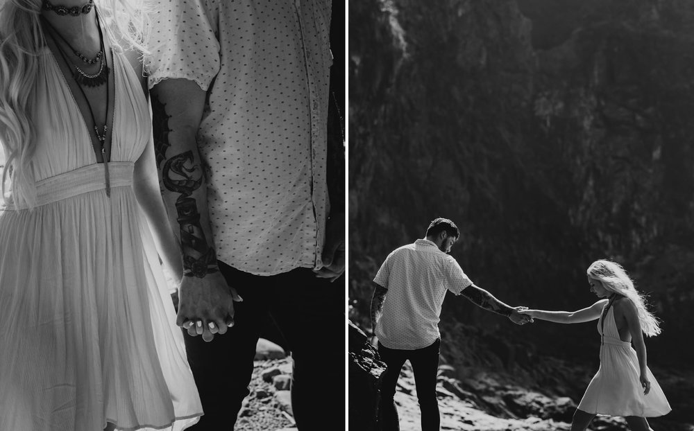 Oregon-Coast-Beach-Engagement-Photography