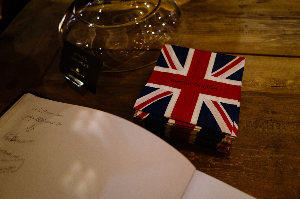 Nationalistic napkins, anyone?