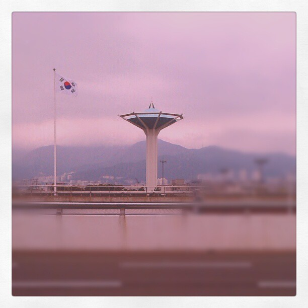 Just got to Pusan on my way to Seoul